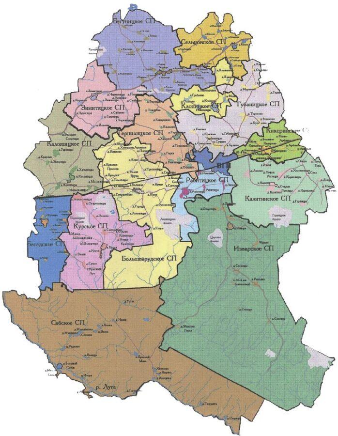 Карты района