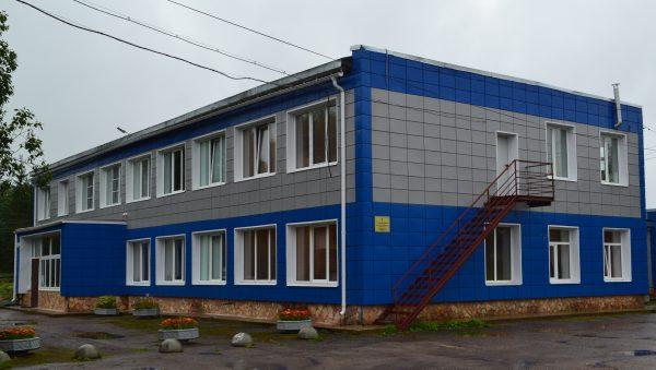 Здание ГБУ ЛО СББЖ Волосовского района