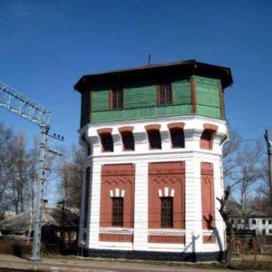 Старинная водонапорная башня