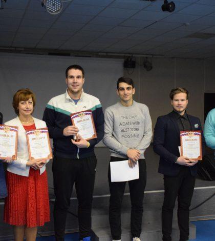 Награждение победителей в X районной спартакиаде Волосовского муниципального района