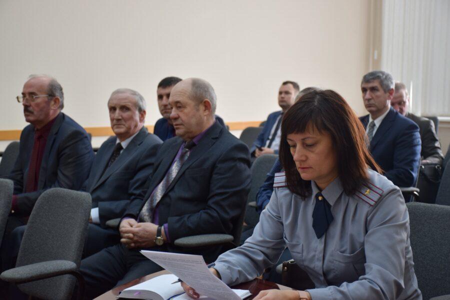 22 марта состоялось заседание антитеррористической комиссии муниципального образования Волосовский муниципальный район