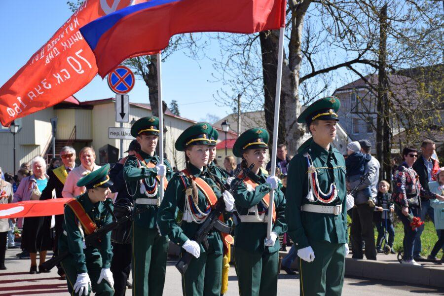 9 мая в городе Волосово состоялись праздничные мероприятия, посвященные 74-й годовщине Победы в Великой Отечественной войне 1941-1945 годов.