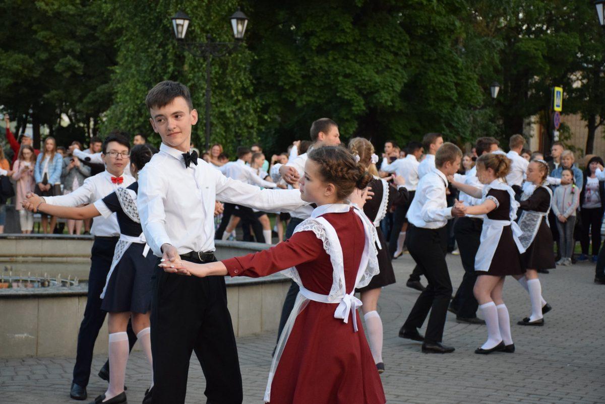 Районная молодежная акция «Школьный вальс»