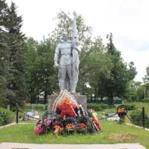 Братское кладбище красноармейцев и советских воинов, погибших в гражданскую и Великую Отечественную войны